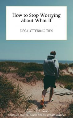 """Although none of us ever knowingly signed up for a class called """"How to Worry 101"""", the vast majority of us have become quite skilled at it. 