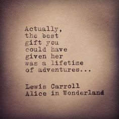 Adventure.- but really.