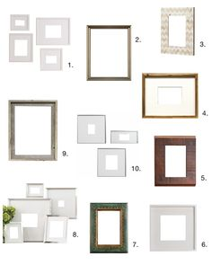 Best Basics: 10 Good, Cheap Frames — Apartment Therapy's Home Remedies
