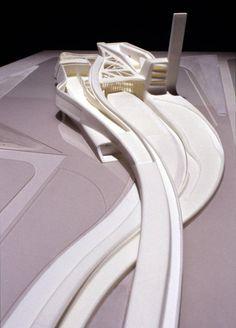 Zaha Haddid: (3d printed modell) Guggenheim Museum Taichung, Taiwan