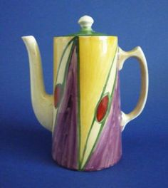 Clarice Cliff Original Bizarre Tankard Coffee Pot c1928