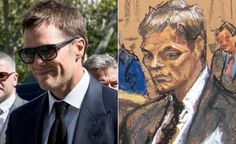 Tom Brady Jane Rosenberg Courtroom Sketch - 3 Celebrity Courtroom Sketches MUCH Worse than Tom Brady's!