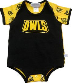 KSU Owls Onesie. FREE SHIPPING until 01/19! Digital Textbooks, Owl Kids, Owls, Onesies, Free Shipping, Clothes, Fashion, Outfits, Moda
