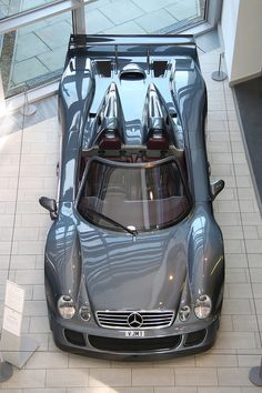 2006 Mercedes-Benz CLK GTR Roadster, pretty much a street legal race car.