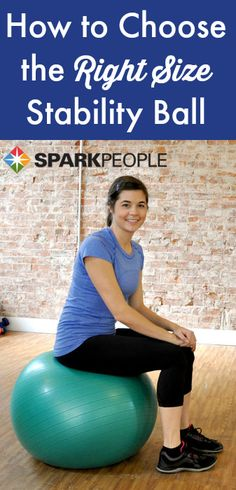 Intro to the Stability Ball. Great little informative video!  via @SparkPeople #stabilityball #workout #fitness #healthyliving