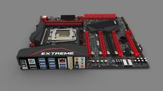 Asus Rampage V Extreme X99 LGA 2011-3 Motherboard | Freelancers 3D