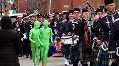 Binghamton NY St Patrick's Day Parades 2010 2011 2012 - Geraldine Clark - YouTube