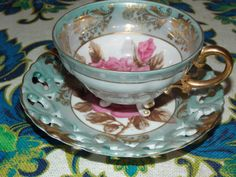 Unique Vintage Royal Sealy China Cup and by EnchantingArtistry, $25.95