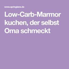 Low-Carb-Marmorkuchen, der selbst Oma schmeckt