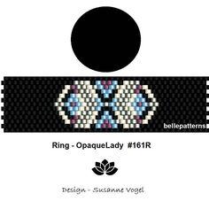 peyote ring patternPDF-Download 161R beading pattern
