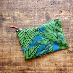 Learn to make an easy fabric zippered pouch.  No sewing machine needed!