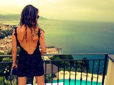 Mini dress #fashion #dress #blu #panorama look