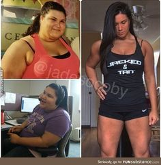 Jade Socoby: 320lbs -> 200lbs through powerlifting within 3.5 years