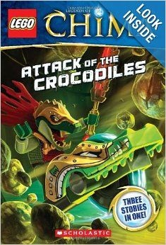 LEGO® Legends of Chima: Attack of the Crocodiles (Chapter Book #1) (LEGO Legends of Chima): Greg Farshtey: 9780545516495: Amazon.com: Books