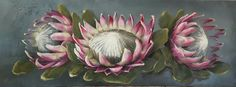 List Of Paintings, Protea Art, Protea Wedding, Clay Paint, Illustration Art, Illustrations, Scrapbook Kit, Decoupage Paper, Serendipity
