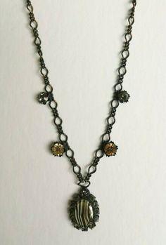 KONPLOTT  Halskette Kette Collier LUXUS selten elegant Kristallsteine Miranda Konstantinidou, Pendant Necklace, Chain, Elegant, Ebay, Jewelry, Pendant Earrings, Crystals, Luxury