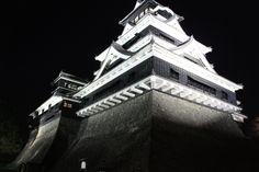Kumamoto Castle at Night (Kumamoto-ken,Japan)