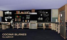 Sims 4. Cocina Blanes. | pqSim4