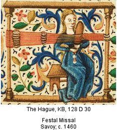 The Hague, KB, 128 D 30  Fetal Missal  Savoy: c. 1460