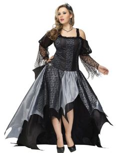 Fashion Bug Spider Queen Adult Plus Size 18-20 Adult Womens Costume www.fashionbug.us