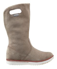 Another great find on #zulily! Bogs Hazelnut Boga Suede Boot by Bogs #zulilyfinds