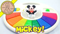 "Mattel ""Disney"" Mickey Mouse Music and Lights Piano"