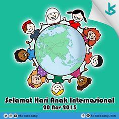 Hari Anak Internasional 20 November 2015  Read More on http://galeri.kotaserang.com/2015/11/hari-anak-internasional-20-november-2015.html