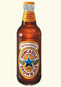 Newcastle Brown Ale is a brand of brown ale, created by Newcastle Breweries in April in Newcastle upon Tyne, United Kingdom. Newcastle Breweries later became Scottish & Newcastle in Newcastle Brown Ale, Newcastle Shirt, Beers Of The World, Drinking Buddies, Beer Brands, Breakfast Of Champions, Bottle Cap Images, Beer Tasting, Light Beer