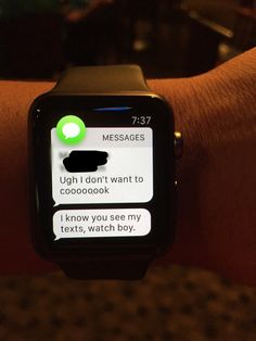 Got an Apple Watch. Didn't see this coming. Got an Apple Watch. Didn't see th