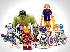 Amazing Lego Creations, Lego People, Lego Marvel's Avengers, Lego Minifigs, All Lego, Lego Design, Lego Building, Marvel Cinematic Universe, Lego Star Wars