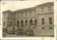 US Post Office & Courthouse, Paris, Lamar Co., Tx. (photo courtesy of Gina on I Grew Up in Paris, Texas FB group)