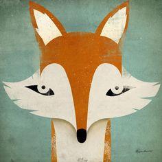 Ryan Fowler - Fox - Tapetit / tapetti - Photowall