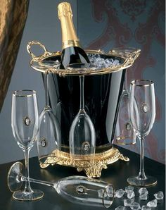 Luxury Ice Buckets & Chillers ,  Made in Italy