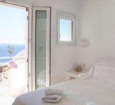 Vacation Villas, Mykonos, Windows, Mirror, Furniture, Home Decor, Home, Decoration Home, Room Decor