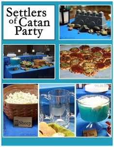Sugar Bean Bakers: { Settlers of Catan Party }