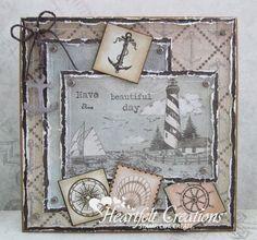 Heartfelt Creations | Lighthouse Scene Beautiful Day