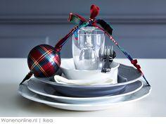 Een creatieve kersttafel met Ikea #Kersttrends 2013
