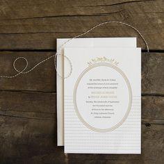 I'm in love...Image of Amelie letterpress wedding invitations