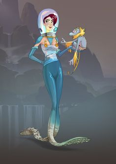 """Princess, Project """"Roger&Out"""", 2012 - 2013 by Eric Desideriu, via Behance"""
