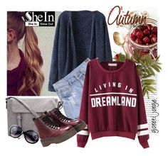 """""""Sweatershirt - Shien"""" by goreti ❤ liked on Polyvore featuring women's clothing, women's fashion, women, female, woman, misses and juniors"""