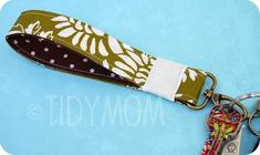 DIY fabric keyfob