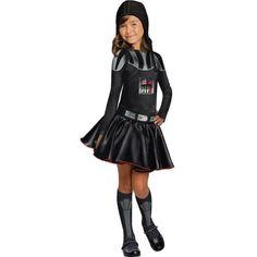 ohhhh..Girls Darth Vader Costume - Star Wars