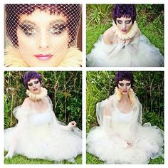 Tyson Keanum Beauty — #hair #makeup #wig #styling #dress #neckpiece and...