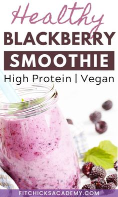 Try this healthy and delicious blackberry smoothie - gluten free, vegan and high protein. Filled with kale, almond milk and other healthy ingredients, this fat burning smoothie is excellent for weight loss and is the perfect post workout snack or healthy breakfast idea. Get the recipe! Dairy Free Snacks, Healthy Vegan Snacks, Fast Healthy Meals, Healthy Smoothies, Healthy Eating, Healthy Recipes, Low Calorie Liquor, Low Carb Cocktails, Keto Diet Alcohol