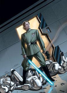 Star Wars: Empire by David Michael Beck Star Wars Rpg, Star Wars Jedi, Starwars, Michael Beck, War Comics, Star Wars Pictures, Mara Jade, Star Wars Wallpaper, Star Wars Poster
