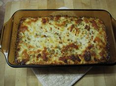 Low Carb Creamy 'Lasagna'. Photo by Weewah