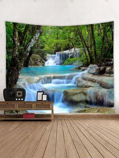 Landscape Materials, Landscape Prints, Wall Patterns, Print Patterns, Pattern Print, Hanging Art, Tapestry Wall Hanging, Fireplace Bookcase, Cheap Wall Art