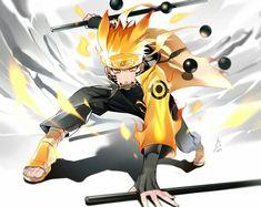 Naruto Uzumaki is the Protagonist of the Naruto series, created by the famous mangaka, Masashi Kishimoto. He was once a young Genin from Konohagakure, who Anime & Manga Naruto Shippuden Sasuke, Anime Naruto, Boruto, Naruto Fan Art, Wallpaper Naruto Shippuden, Naruto Wallpaper, Itachi Uchiha, Anime Ninja, Hinata