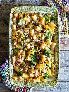Grilled pasta with chicken and bacon – Food On The Table-Gratinert pasta med kylling og bacon – Mat På Bordet Grilled pasta with chicken and bacon - Source Bacon Recipes, Low Carb Recipes, Healthy Recipes, Bacon Food, Norway Food, Healthy Meals For One, Chicken Pasta, Food For Thought, Pasta Salad
