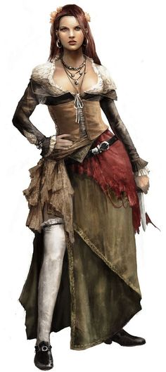 Anne Bonny is a supporting NPC in Assassin's Creed IV: Black Flag by Ubisoft